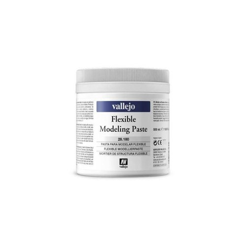 Flexible Modeling Paste VALLEJO 500ml